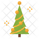 Pine Christmas Forest Icon