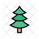 Tree Christmas Decoration Icon