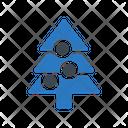 Tree Decoration Christmas Icon