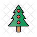 Tree Decoration Celebration Icon