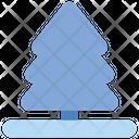 Christmas Pine Tree Icon