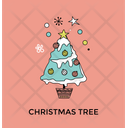 Christmas Tree Decorative Icon