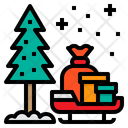 Xmas Christmas Tree Icon