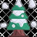 Tree Winter Nature Icon