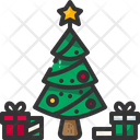 Pine Tree Winter Icon