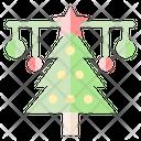Christmas Tree Xmas Ornament Icon