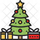 Christmas Tree Winter Tree Icon