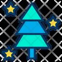 Decoration Pine Tree Xmas Tree Icon