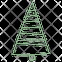 Christmas Tree Xmas Tree Conical Tree Icon