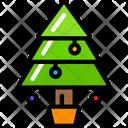 Tree Tradition Holidays Icon