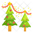 Christmas Tree Pine Forest Icon