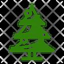 Christmas X Mas Tree Icon