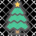 Christmas Color Tree Icon