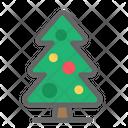 Christmas Tree Celebration Icon