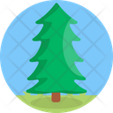 Christmas Tree Plant Green Icon