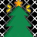 Christmas Tree Decoration Decorated Tree Icon