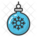 Christmas Bauble Decoration Icon