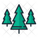 Christmas Trees Christmas Tree Nature Icon