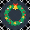 Christmas Wreath Floral Wreath Laurel Wreath Icon