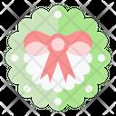 Wreath Decoration Adornment Icon