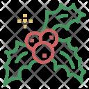 Christmas Xmas Mistletoe Icon