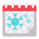 Chritsmas Date Schedule Icon