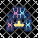 Chromosome Division Icon