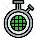 Chronometer World Clock Icon