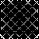 Chronometer Cogwheel Stopwatch Icon