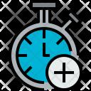 Chronometer Add Clock Icon