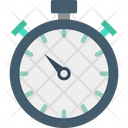 Chronometer Time Counter Timekeeper Icon