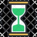 Chronometer Hourglass Egg Icon