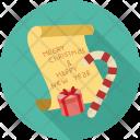 Chrsitmas Wish Greetings Icon