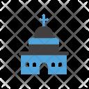 Chruch Christian Prayer Icon