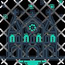 Chruch Castle Notre Icon