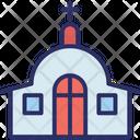 Christians Building Church Church Building Icon