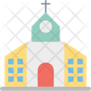 Church Religious Place Chapel Icon