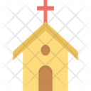 Church Religious Building Chapel Icon