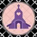 Church Religious Sanctuary Icon