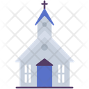 Church Building Construction Icon