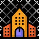 Spring Church Christmas Icon