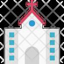 Church Religious Building Chapel Icon