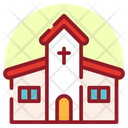 Christian House Church Church Building Icon