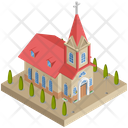 Building Church Religious Icon