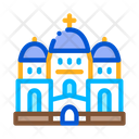 Christian Temple Domes Icon
