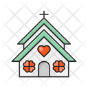 Church Love Catholic Icon