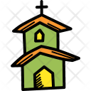 Church Institution Building Icon