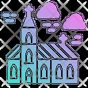 Church Christian Wedding Icon