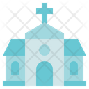 Funeral Church Chapel Icon