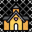 Church Love And Romance Culture Icon